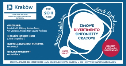 Zimowe divertimento Sinfonietty Cracovii